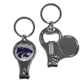 Kansas St. Wildcats Nail Care/Bottle Opener Key Chain