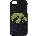 Iowa Hawkeyes iPhone 5 Crystal Case - Add a little glitz to your game with our Iowa Hawkeyes iPhone 5 Glitz faceplates. These officially licensed flashy cases are covered in colored crystals featuring your favorite team logos. The single piece faceplate slips easily onto your phone while allowing complete access to the phones functionality. A great, fashionable way to protect your phone investment and show off your school pride! Thank you for shopping with CrazedOutSports.com