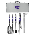 Kansas St. Wildcats 8 pc Tailgater BBQ Set