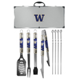Washington Huskies 8 pc Tailgater BBQ Set