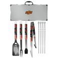 Oklahoma St. Cowboys 8 pc Tailgater BBQ Set