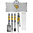 W. Virginia Mountaineers 8 pc Tailgater BBQ Set