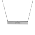 Ohio St. Buckeyes Bar Necklace