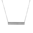 Michigan St. Spartans Bar Necklace
