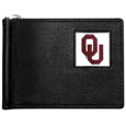 Oklahoma Sooners Leather Bill Clip Wallet