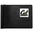 Cal Berkeley Bears Leather Bill Clip Wallet