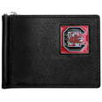 S. Carolina Gamecocks Leather Bill Clip Wallet