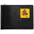 Arizona St. Sun Devils Leather Bill Clip Wallet