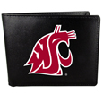 Washington St. Cougars Bi-fold Wallet Large Logo