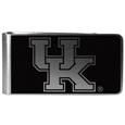 Kentucky Wildcats Black and Steel Money Clip