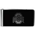 Ohio St. Buckeyes Black and Steel Money Clip