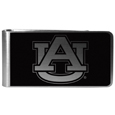 Auburn Tigers Black and Steel Money Clip