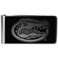 Florida Gators Black and Steel Money Clip