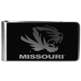 Missouri Tigers Black and Steel Money Clip