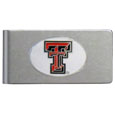 Texas Tech Raiders Brushed Metal Money Clip