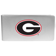 Georgia Bulldogs Logo Money Clip