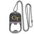 Georgia Tech Yellow Jackets Bottle Opener Tag Necklace