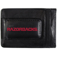 Arkansas Razorbacks Logo Leather Cash and Cardholder