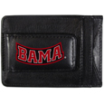 Alabama Crimson Tide Logo Leather Cash and Cardholder