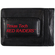 Texas Tech Raiders Logo Leather Cash and Cardholder