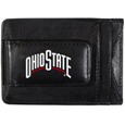 Ohio St. Buckeyes Logo Leather Cash and Cardholder