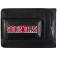 Oklahoma Sooners Logo Leather Cash and Cardholder