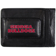 Georgia Bulldogs Logo Leather Cash and Cardholder