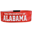 Alabama Crimson Tide Stretch Bracelets - Instantly become a team VIP with these colorful wrist bands! These are not your average, cheap stretch bands the stretch fabric and dye sublimation allows the crisp graphics and logo designs to really pop. A must have for any Alabama Crimson Tide fan! Thank you for shopping with CrazedOutSports.com