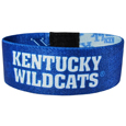 Kentucky Wildcats Stretch Bracelets - Instantly become a team VIP with these colorful wrist bands! These are not your average, cheap stretch bands the stretch fabric and dye sublimation allows the crisp graphics and logo designs to really pop. A must have for any Kentucky Wildcats fan! Thank you for shopping with CrazedOutSports.com