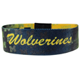 Michigan Wolverines Stretch Bracelet - Instantly become a team VIP with this colorful Michigan Wolverines Stretch Bracelet! This Michigan Wolverines Stretch Bracelet is not your average, cheap stretch bands the stretch fabric and dye sublimation allows the crisp graphics and logo designs to really pop. Michigan Wolverines Stretch Bracelet is a must have for any Michigan Wolverines fan! Thank you for shopping with CrazedOutSports.com