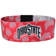 Ohio St. Buckeyes Stretch Bracelets - Instantly become a team VIP with these colorful wrist bands! These are not your average, cheap stretch bands the stretch fabric and dye sublimation allows the crisp graphics and logo designs to really pop. A must have for any Ohio St. Buckeyes fan! Thank you for shopping with CrazedOutSports.com