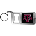 Texas A & M Aggies Flashlight Key Chain with Bottle Opener