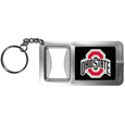 Ohio St. Buckeyes Flashlight Key Chain with Bottle Opener