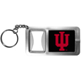 Indiana Hoosiers Flashlight Key Chain with Bottle Opener