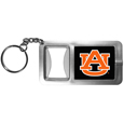 Auburn Tigers Flashlight Key Chain with Bottle Opener