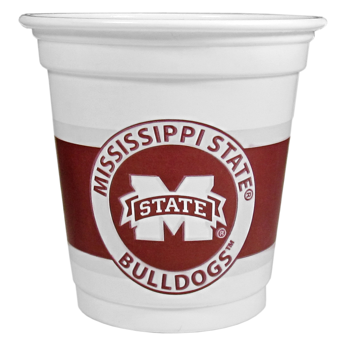 Mississippi St. Bulldogs 18 Game Day Mini Cups - No better way to show your off your team pride on game day than these Mississippi St. Bulldogs game day mini cups. The 3 ounce disposable glasses are the perfect addition to your game day party or tailgating BBQ. The cups come in a sleeve of 18 to make sure everyone is sporting true team spirit!