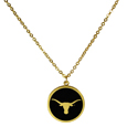 Texas Longhorns Gold Tone Necklace