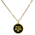 Texas A & M Aggies Gold Tone Necklace