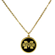 Mississippi St. Bulldogs Gold Tone Necklace