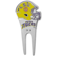 LSU Tigers Divot Tool and Ball Marker