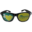 Oregon Ducks I Heart Game Day Shades - Our officially licensed I Heart game day shades are the perfect accessory for the devoted Oregon Ducks fan! The sunglasses have durable polycarbonate frames with flex hinges for comfort and damage resistance. The lenses feature brightly colored team clings that are perforated for visibility.