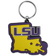 LSU Tigers Home State Flexi Key Chain
