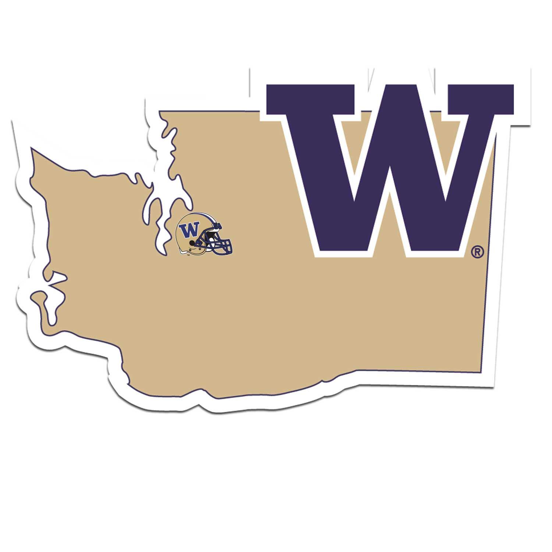 Planet Sports Team Washington Huskies Home State Decal