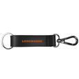 Texas Longhorns Black Strap Key Chain