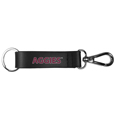 Texas A & M Aggies Black Strap Key Chain