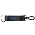 Kentucky Wildcats Black Strap Key Chain