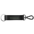 Michigan Wolverines Black Strap Key Chain