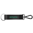 Michigan St. Spartans Black Strap Key Chain