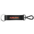 Auburn Tigers Black Strap Key Chain