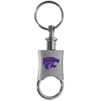 Kansas St. Wildcats Key Chain Valet Printed